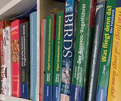 Vogelbeobachtungs ausrüstung: bestimmungsbuch fernglas spektiv etc.